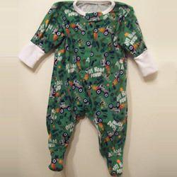 Printed Children Sleep Suit