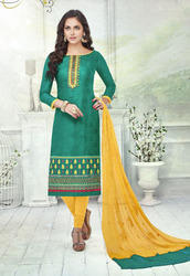 Trendy Ladies Cotton Suit