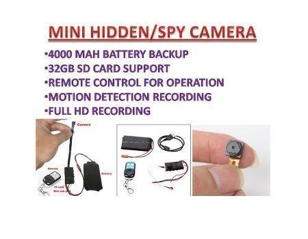 Spy Camera CCTV KL618C Operation Manual