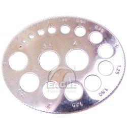 Gauges 6 mm wide brass finger gauges manufacturer from rajkot get best quote keyboard keysfo Choice Image