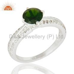 925 Silver Engagement Rings Jewelry