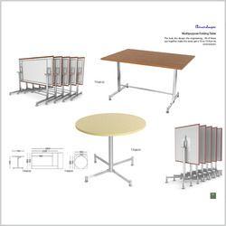 Multipurpose Folding Table T Fold 01 / T Fold 02