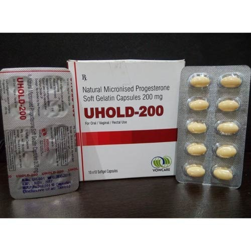 Natural Micronized Progesterone 200mg