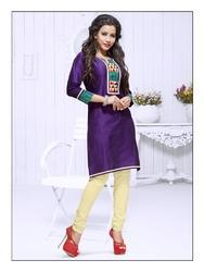 Traditional Looking Pure Cotton Designer Kurti