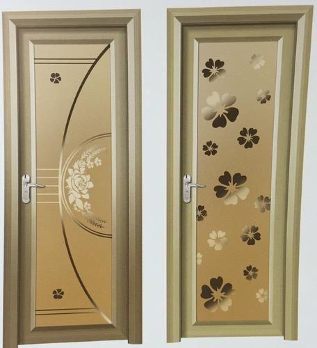 Aluminum glass bathroom door casa porta impex for Aluminium bathroom door designs
