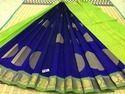 Silk Cotton 3stp Butta Sarees