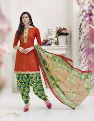 Patiala Cotton Salwar Suit