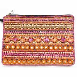 Ladies Stylish Hand Pouch