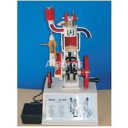 4 Stroke Diesel Engine Working Model