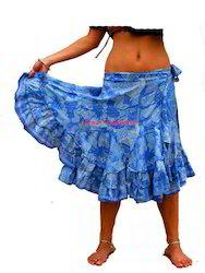 Jalebi Style Wrap Skirt