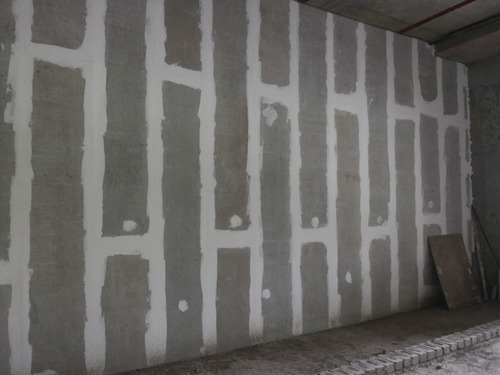 readymade wall partitions wall hanging wall panels rapicon cement fiber panel manufacturer from pune