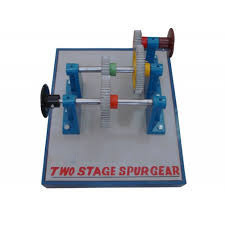 Two Stage Spur Gears Model