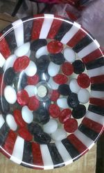 Red White Resin Washbasin
