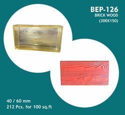 PVC Moulds Wood Design