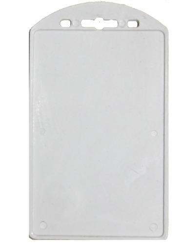 one side sticky eco vertical card holder ch 24 - Plastic Id Card Holder