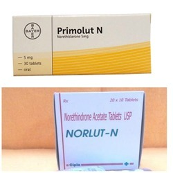 Norethisterone available in us