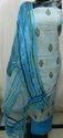 Printed Chanderi Suits