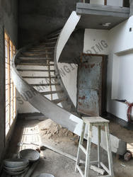 MS Staircases With Concrete