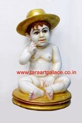 Marble Child Statue