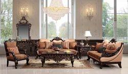 Wilmer Wooden Sofa Set
