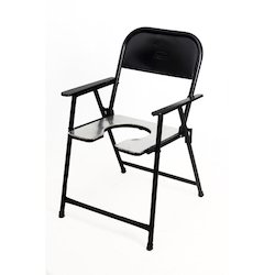 Aluminum Commode Chair (S-3)