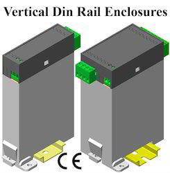 Vertical Din Rail Enclosures