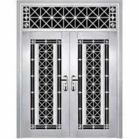 Steel Door Designs stainless steel main door design Steel Main Door Design