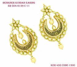Designer Kundan Earring