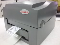Label Dispenser with Barcode Printer