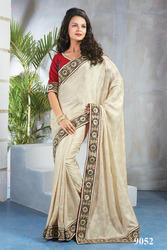Designer Fancy Saree With Blouse