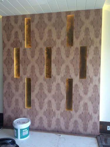 Designer Wallpaper Wall Paper Wholesale Trader From Surat