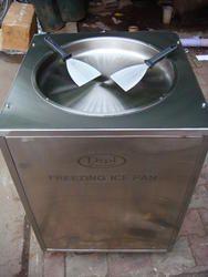 Fried Ice Pan Machine