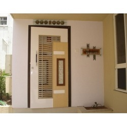 Safety door - Modern Wooden Safety Door Service Provider from Mumbai