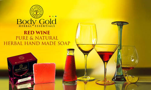 Red Wine Pure & Natural Herbal Hand Made Soap