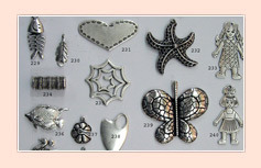 Decorative Metal Charms