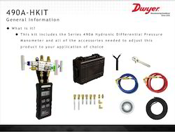 Hydronic Differential Pressure Manometer