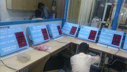 Datalogger Production Information LED Display