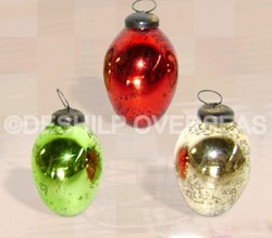Opal Christmas Ornaments