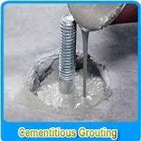 how to clean cement grout