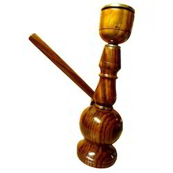 Wooden Hukkah