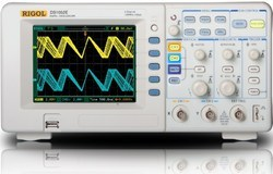2channel dso oscilloscope with 50 mhz bandwidth 1gsa s and 1mpts ds1052e