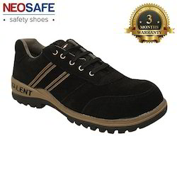 Sued Leather Safety Shoe