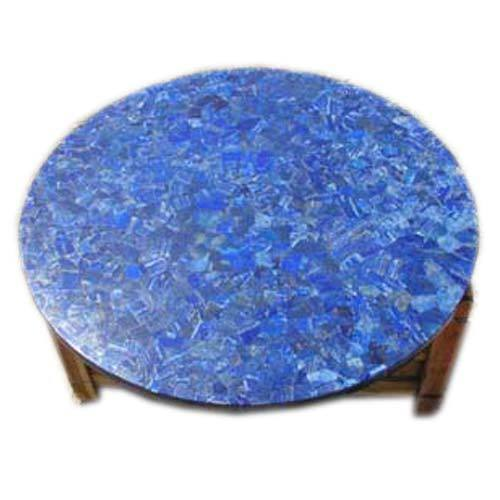 Lapis Marble Table Tops