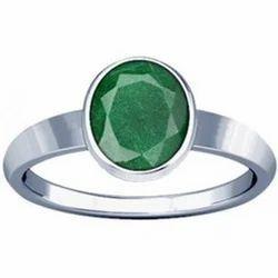 Aventurine Sterling Silver Ring