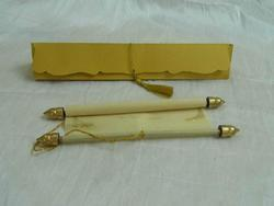 Blank Scroll Invites Available With Boxes, Tassels