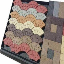 Designer Chequered Floor Tiles Moulds