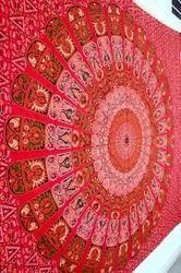 Beautiful Traditional Print Mandala Bed Sheets