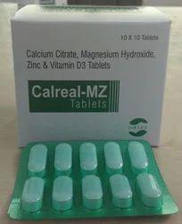 Calcium Citrate Magnesium Hydroxide Zinc and Vitamin D3