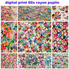 Digital Printing Service For Viscose Fabrics
