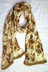Floral Printed Rayon Scarfs